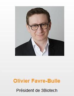 hoolders Olivier Favre - Bulle 3Biotech Presidente