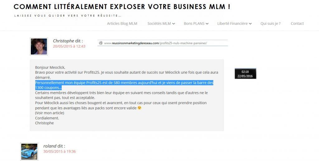 03 scam scam scam ponzi crooks 05 reussirsonmarketingdereseau Christophe GARNIER profit 25